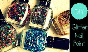 diy glitter nail polish chic factor gazette