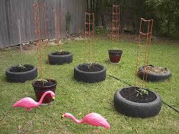 how to diy old tire garden ideas u2014recycled backyard tire garden