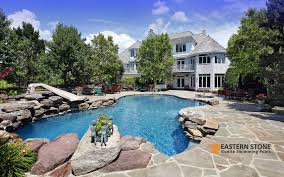 gunite swimming pools by eastern stone pool plaster specialist