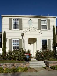 Home Decorator Collection Blinds Decorating Exciting Exterior Home Design With White Wood Siding