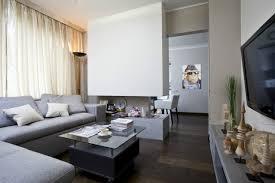 wohnzimmer modern einrichten wohnzimmer modern einrichten graue möbel gas kamin raumteiler