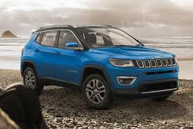 jeep compass limited blue jeep compass launched in india at inr 14 95 lakh autobics