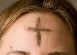 Cross On - ash wednesday