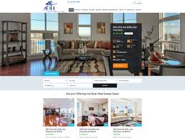 agh realty group website design for real estate company