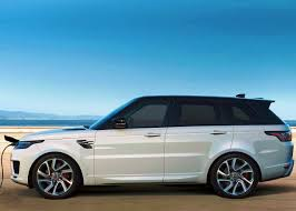 range rover blue and white 2018 range rover sport p400e phev white color front angle pictures