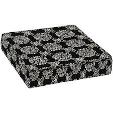 better homes and gardens outdoor deep seat seat cushion black