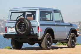 1977 ford bronco refreshed with frame off stunning paint an color