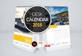 Calendar 2018 Ai Template Clean Calendar 2018 Photos Graphics Fonts Themes Templates