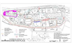 New Orleans Parade Routes Map by 2015 Toronto Carnival Grand Parade Route Map