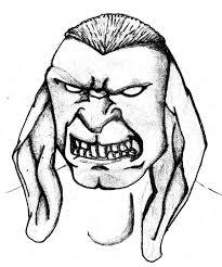 angry rabbit guy by kangen master on deviantart