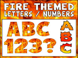 themed letters theme display lettering teaching resources letter bonfire