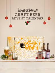 craft beer advent calendar 24 beer christmas gift case honestbrew