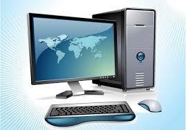 bureau gratuit téléchargement du vecteur gratuit vecteur d ordinateur de bureau