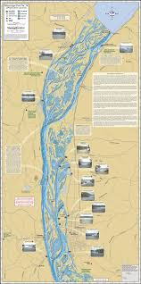 Map Of The Mississippi River Mississippi River Pool 10 Fold Map