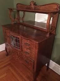 antique oak sideboard ebay