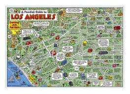 map of downtown los angeles maps usa