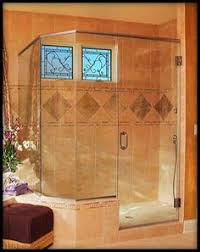 The Shower Door Doctor Glass Doctor Silver Framed Shower With Subway Tile Detail
