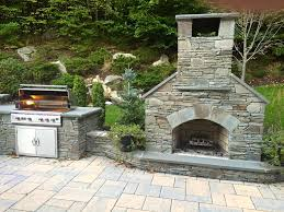 Outdoor Fireplace Insert - outdoor fireplace kits masonry fireplaces pertaining to outdoor