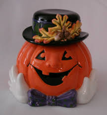 pumpkin cookie jar by fitz u0026 floyd fitz u0026 floyd cookie jars