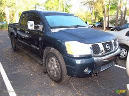 nissan titan king cab for sale 2007 nissan titan le crew cab in deep water blue green 204959