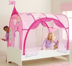 Princess Canopy Bed Girl S Bedroom Canopy Tent Bed In Princess Theme Bedroom