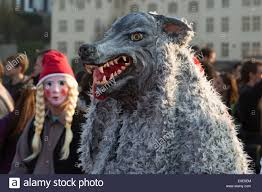 Wolf Costume A Photograph Of Someone Anonymous Wearing A Wolf Costume At A