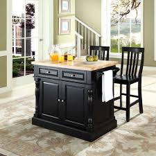 Counter Height Kitchen Island by Breathtaking Crosley Furniture Kitchen Island With Black Wooden
