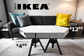 adjustable height side table the kvissle adjustable coffee table don t you wish ikea really made