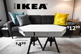 ikea hacks coffee table the kvissle adjustable coffee table don t you wish ikea really