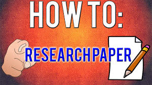 how write a research paper how to write a research paper 8 simple steps youtube