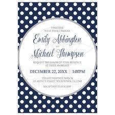 polka dots invitations invitations gray navy blue polka dot