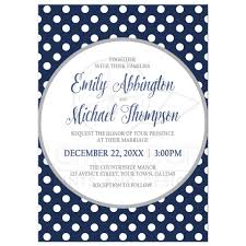 polka dot wedding invitations invitations gray navy blue polka dot