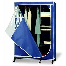 wardrobe racks amusing covered clothes rack portable closets