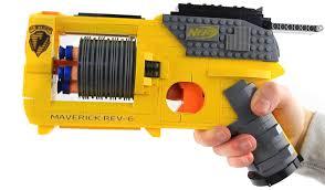 nerf car gun lego nerf gun the awesomer