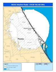 Map Of Daytona Beach Noaa Weather Radio Kih26