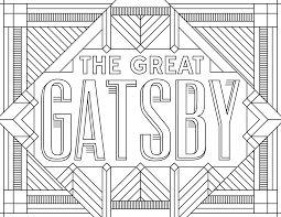 the great gatsby movies coloring pages for adults justcolor