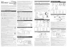 defi racer gauge 60 u002652mm gauges user manual 2 pages