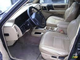 tan jeep grand cherokee tan interior 1995 jeep grand cherokee limited photo 52613024