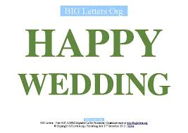 wedding congratulations banner big happy wedding printable letter banners big letters org