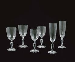 bicchieri villeroy servizio di 24 bicchieri in cristallo villeroy boch modello a