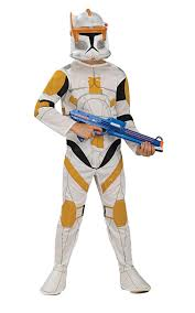 kids costume wars clone wars clone trooper child s commander