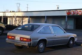 hatchback cars 1980s old parked cars 1980 chevrolet citation