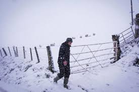 Snow Scotland Weather Warning Issued For Scotland As Heavy Snow Blankets