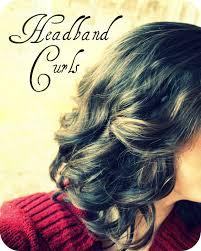 headband styler it s just no heat headband curls experiment