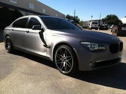 bmw 750 on rims gallery matte black bmw 650i on pur wheels