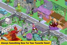 When The Biggest Annual Football Game Comes To Town The Simpsons Tapped Out Android Apps On Google Play