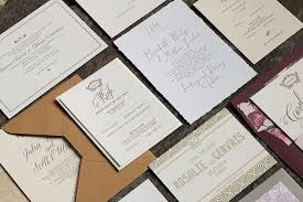 wedding invitations in antoinette magva design letterpress