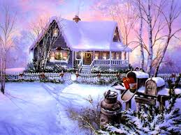 Winter Houses by Houses Christmas House Snow Winter Best Wallpapers For Hd 16 9