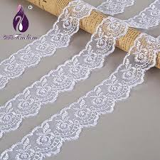 navy lace ribbon embroidered net lace trim ribbon 40mm width 10yards sewing