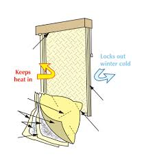 window quilt insulated shades innovative openings
